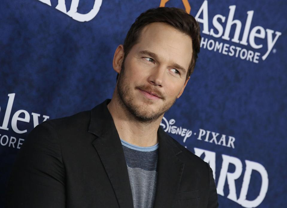 Chris Pratt was voted 'the worst Hollywood Chris' by fans online (Rex Features)