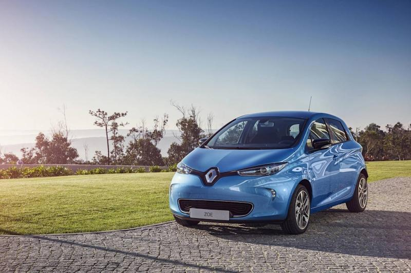 The Renault Zoe has a range of 186 miles (Yannick Brossard)