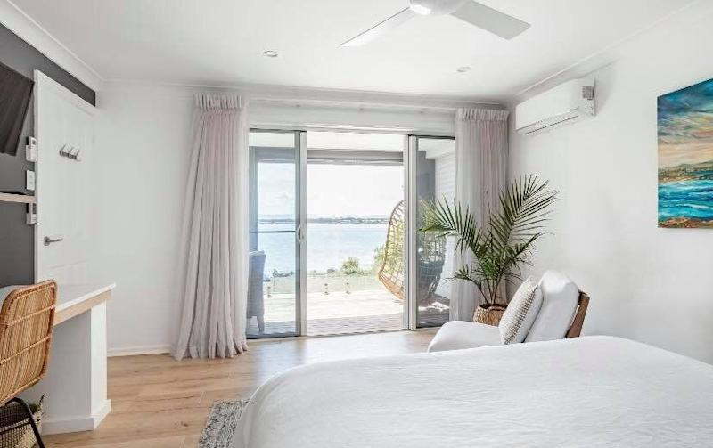 Lake Macquarie Airbnb with views of the water