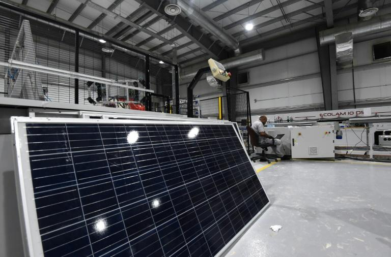 Electricity from solar sources costs less than half that of nuclear power