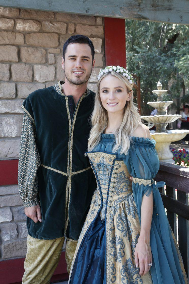Ben Higgins, Lauren Bushnell (Credit: Adam Larkey/Freeform)