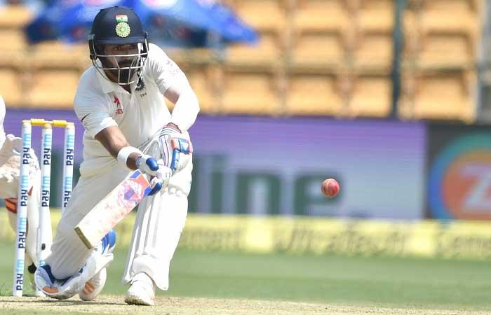 India off to steady start in second innings
