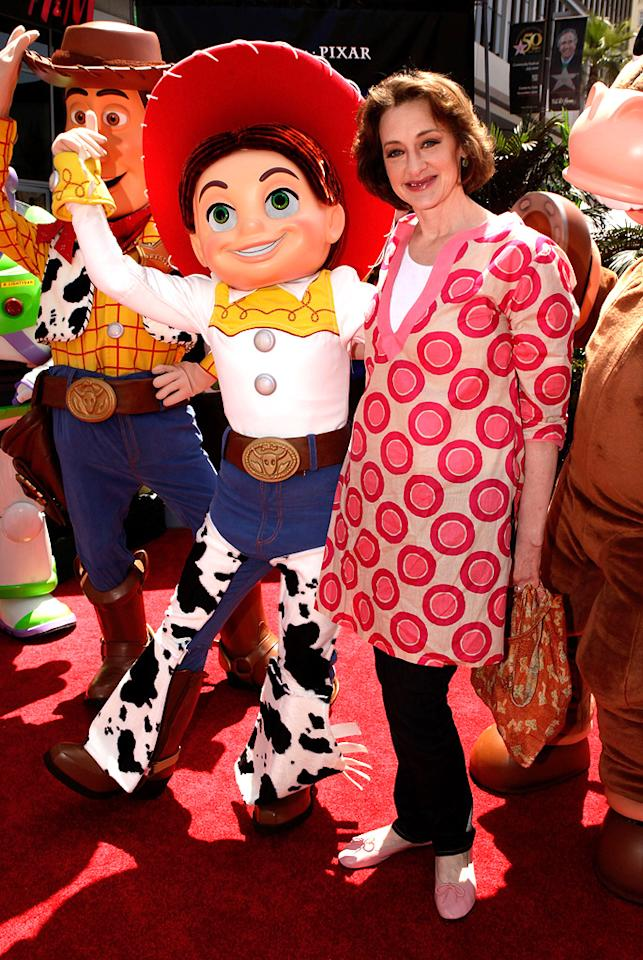 "<a href=""http://movies.yahoo.com/movie/contributor/1800016005"">Joan Cusack</a> at the Los Angeles premiere of <a href=""http://movies.yahoo.com/movie/1809266566/info"">Toy Story 3</a> - 06/13/2010"