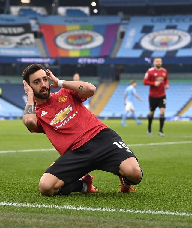 Bruno Fernandes set up United's victory with an early penalty