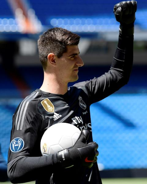 Thibaut Courtois was keen to return to Madrid, where he previously played for Atletico