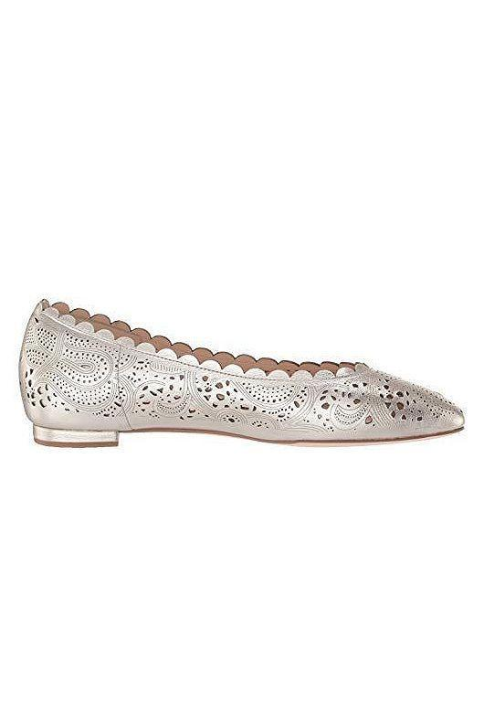 """<p><strong>Cole Haan</strong></p><p>amazon.com</p><p><strong>$45.00</strong></p><p><a href=""""https://www.amazon.com/dp/B07TWNHC4T?tag=syn-yahoo-20&ascsubtag=%5Bartid%7C10058.g.34126792%5Bsrc%7Cyahoo-us"""" rel=""""nofollow noopener"""" target=""""_blank"""" data-ylk=""""slk:Shop Now"""" class=""""link rapid-noclick-resp"""">Shop Now</a></p><p>These laser-cut beauties have enough detail to distract everyone from the fact you're not wearing heels.</p>"""