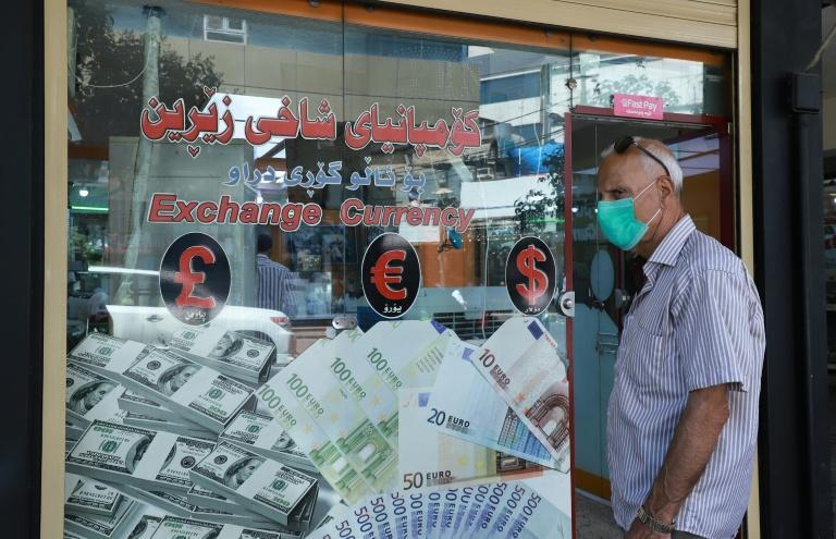 Iraqis unable to find work are now looking to make cash by investing in Iranian rials (AFP Photo/Shwan MOHAMMED)