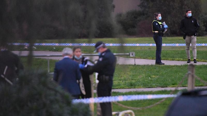 POLICE SHOOTING MELBOURNE