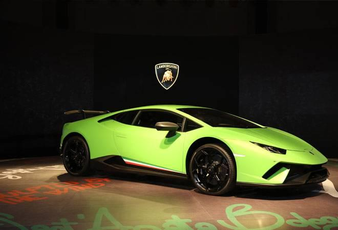 Lamborghini launches its fastest car Huracan Performante in India