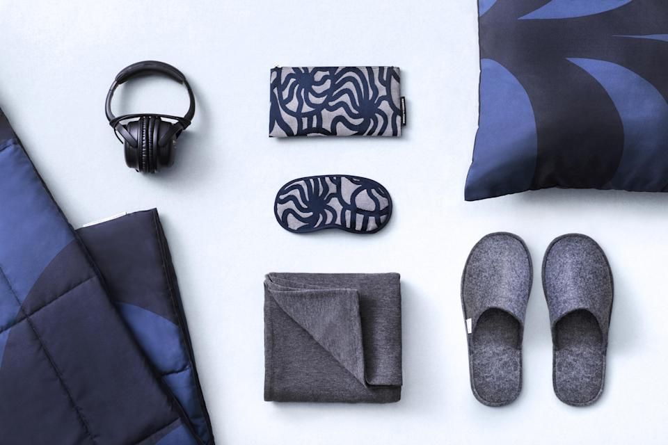 Finnair's eco travel kit. (PHOTO: Finnair)