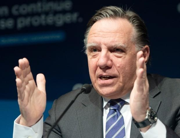 Quebec Premier François Legault announced new restrictions for Quebec City, Lévis and Gatineau on Wednesday.  (Ryan Remiorz/The Canadian Press - image credit)