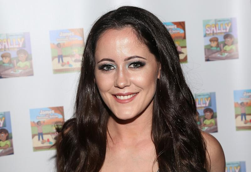 Jenelle Evans smiles for the camera