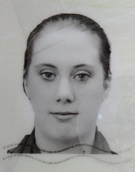 A photo of Samantha Lewthwaite taken from her fake South African passport released by Kenyan police in December 2011 (AFP Photo/)