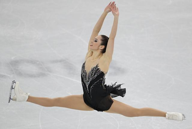 Figure Skating - Pyeongchang 2018 Winter Olympics - Women Single Skating free skating competition final - Gangneung Ice Arena - Gangneung, South Korea - February 23, 2018 - Kaetlyn Osmond of Canada competes. REUTERS/Lucy Nicholson