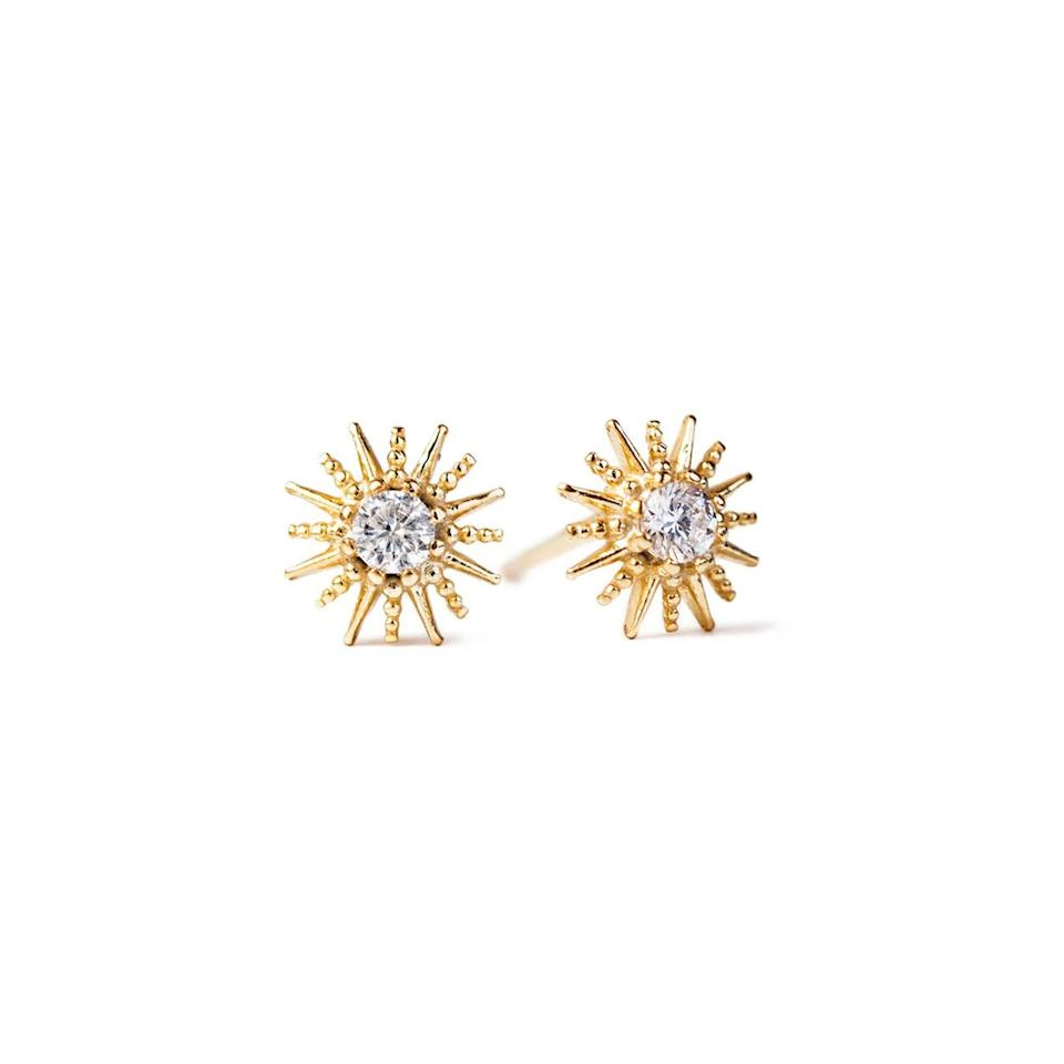 """<h3><a href=""""https://amyojewelry.com/"""" rel=""""nofollow noopener"""" target=""""_blank"""" data-ylk=""""slk:Amy O Jewelry"""" class=""""link rapid-noclick-resp"""">Amy O Jewelry</a></h3><br><strong>Dates:</strong> Limited time<br><strong>Sale:</strong> Take 20% off sitewide<br><strong>Promo Code:</strong> None<br><br>These handmade jewelry pieces may be delicate, but they're designed to last. Enjoy 20% off a wide range of smiles, from simple hoops to more intricate ear crawlers and everything in between. <br><br><strong>Amy O Jewelry</strong> Celeste Star Dainty Studs, $, available at <a href=""""https://go.skimresources.com/?id=30283X879131&url=https%3A%2F%2Famyojewelry.com%2Fcollections%2Fbest-sellers%2Fproducts%2Fceleste-star-dainty-studs-gold"""" rel=""""nofollow noopener"""" target=""""_blank"""" data-ylk=""""slk:Amy O"""" class=""""link rapid-noclick-resp"""">Amy O</a>"""