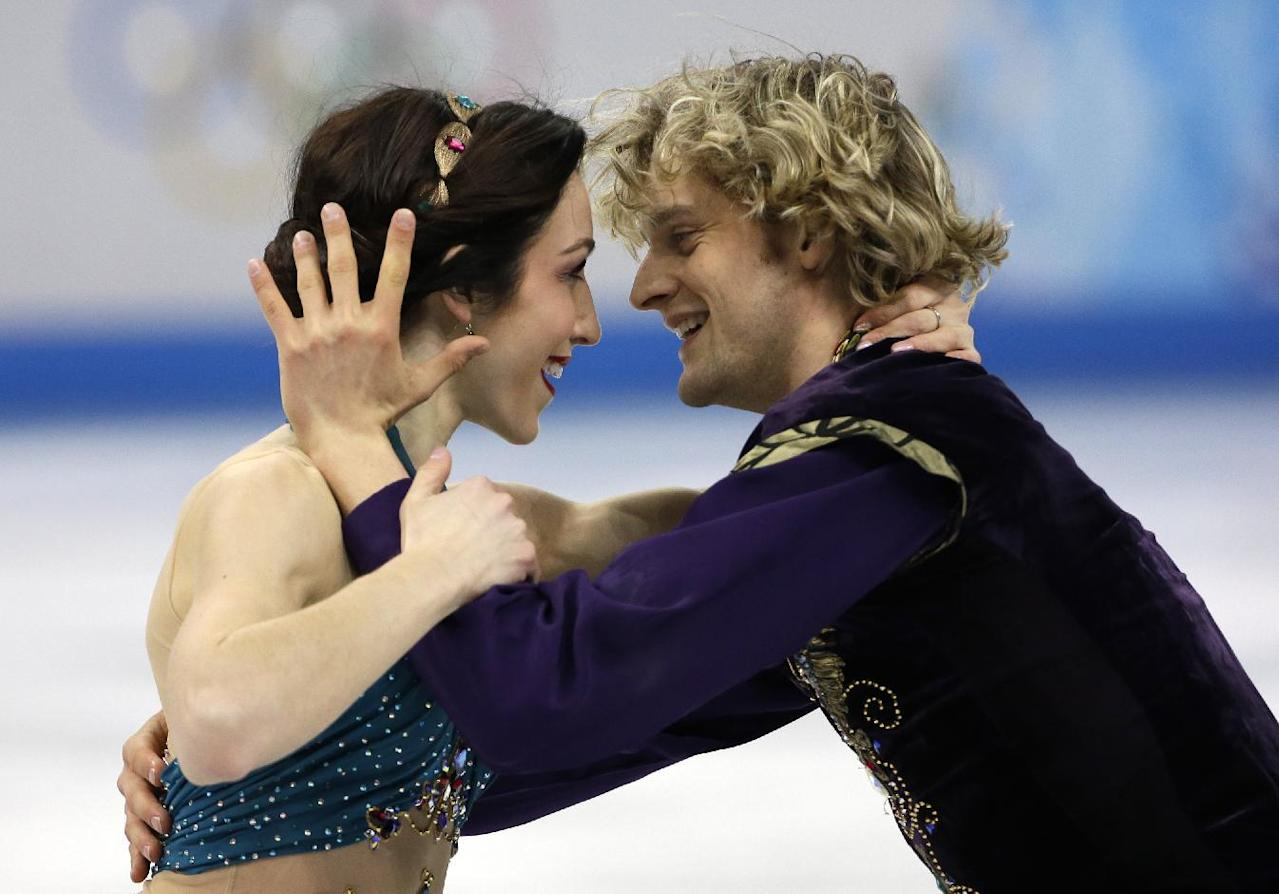 Awww! Here's ice dancing duo Meryl Davis and Charlie White when they were kids