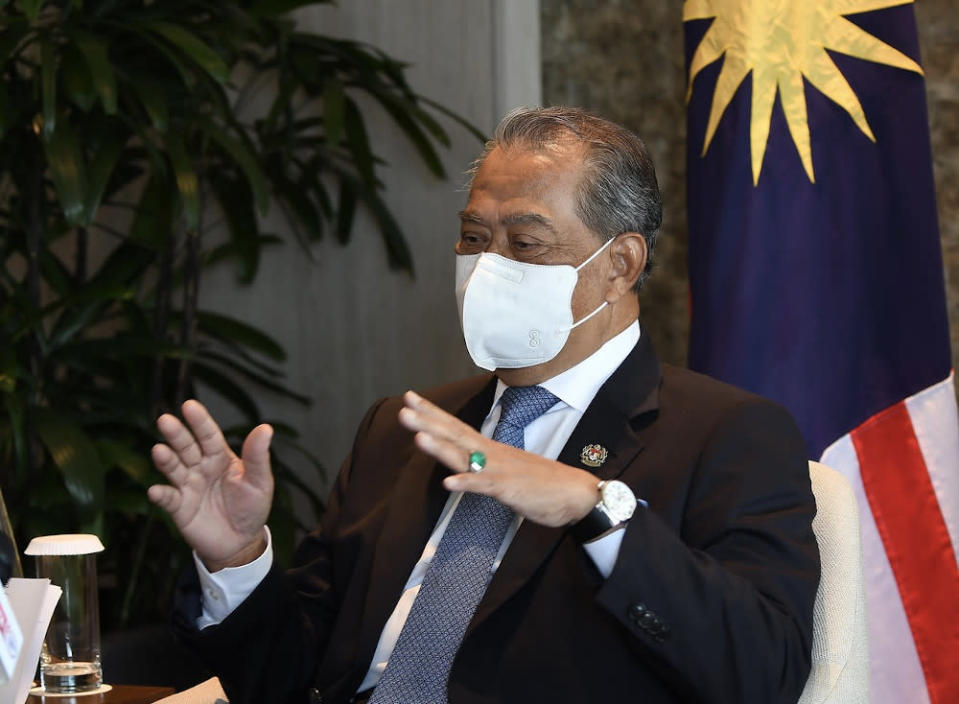 Prime Minister Tan Sri Muhyiddin Yassin will launch the National Covid-19 Immunisation Plan. — Bernama file pic