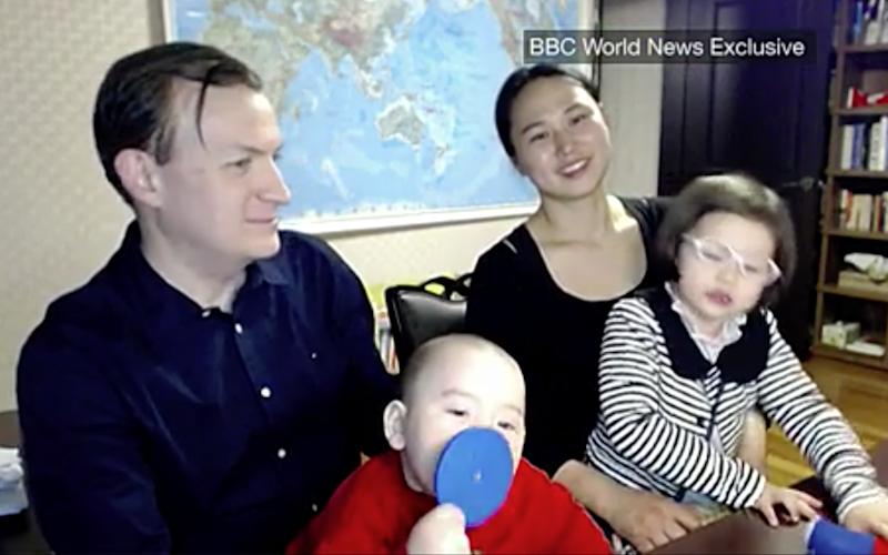 The professor whose BBC interview became a viral sensation after his children gatecrashed the discussion has spoken for the first time