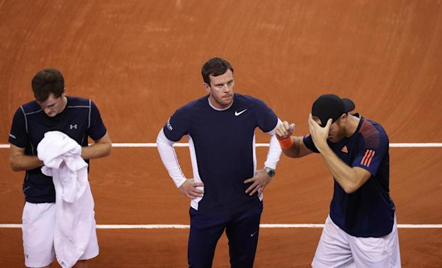 Great Britain exit Davis Cup after doubles defeat hands France unassailable 3-0 lead