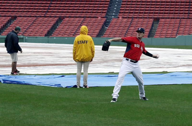 Game 3 of Indians-Red Sox ALDS rained out, will play Monday