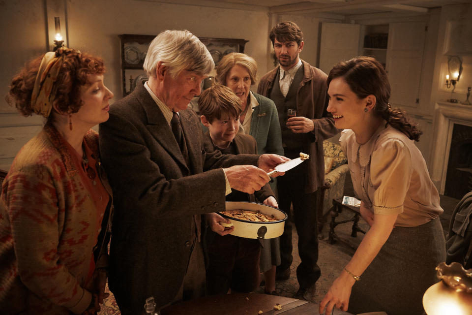 The Guernsey Literary And Potato Peel Pie Society features an all-star cast