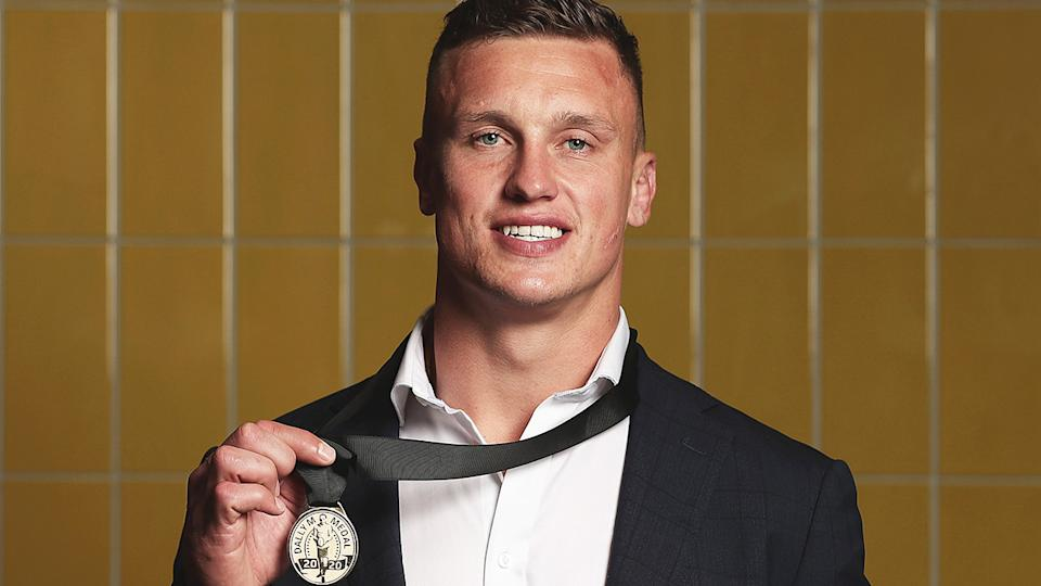 Jack Wighton, pictured here after winning the Dally M Medal.