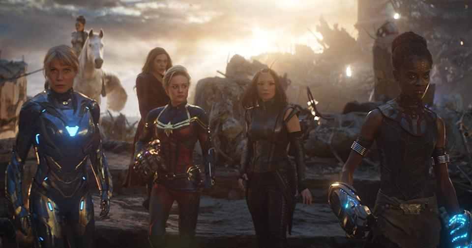 The Avengers: Endgame discuss the film's most expensive shot.