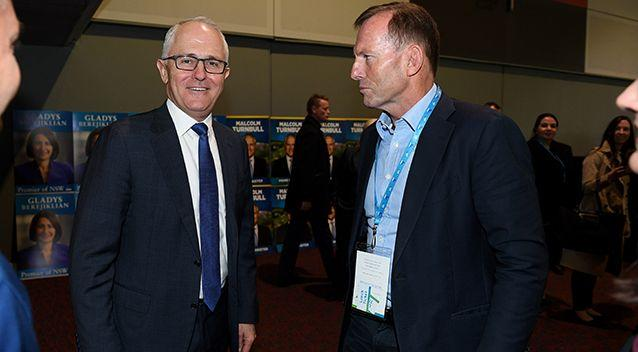 Mr Turnbull reportedly told Mr Abbott that he was