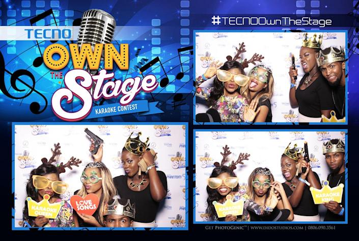 A graphic from a Twitter promotion for the Tecno Own the Stage contest. (Photo: @Tecnoowndstage via Twitter)