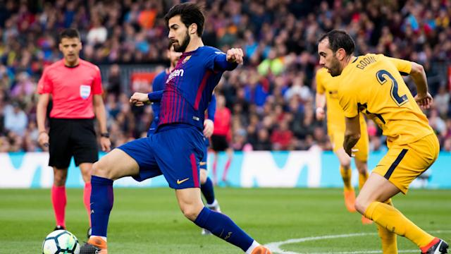 Having being targeted by some Barcelona fans in the win over Atletico Madrid, Andre Gomes has responded with a positive social media post.