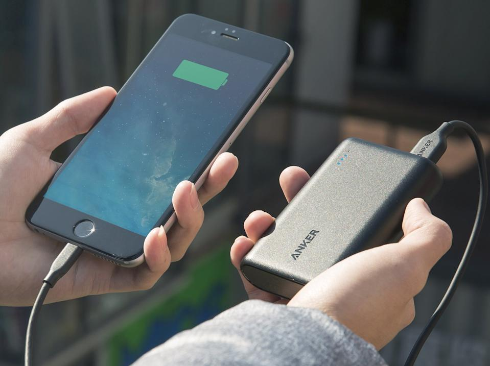 Get a quick charge on the go. (Photo: Amazon)