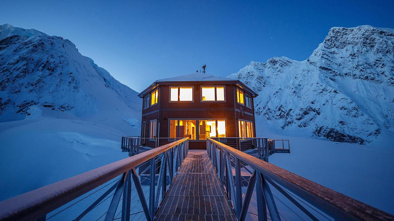 At $2,300 a night, the luxury chalet spares no expense for its affluent, intrepid guests
