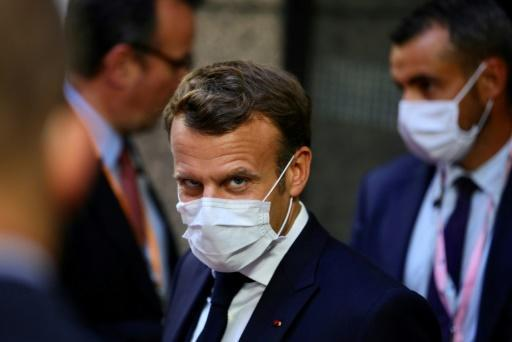 French President Emmanuel Macron was 'extremely cautious' on hopes for an EU compromise on the aid deal
