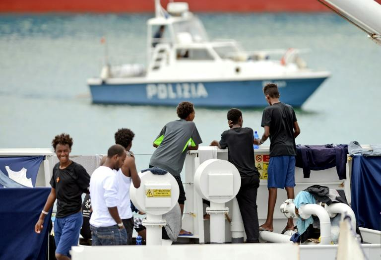 Migration is a hot-button issue in Italy, where hundreds of thousands of people have arrived since 2013 fleeing war, persecution and poverty in the Middle East, Africa and Asia