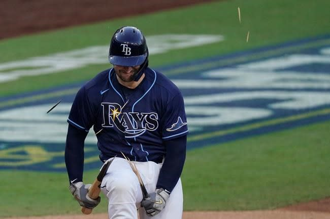 LEADING OFF: Astros-Rays go to Game 7, LA trails Braves 3-2