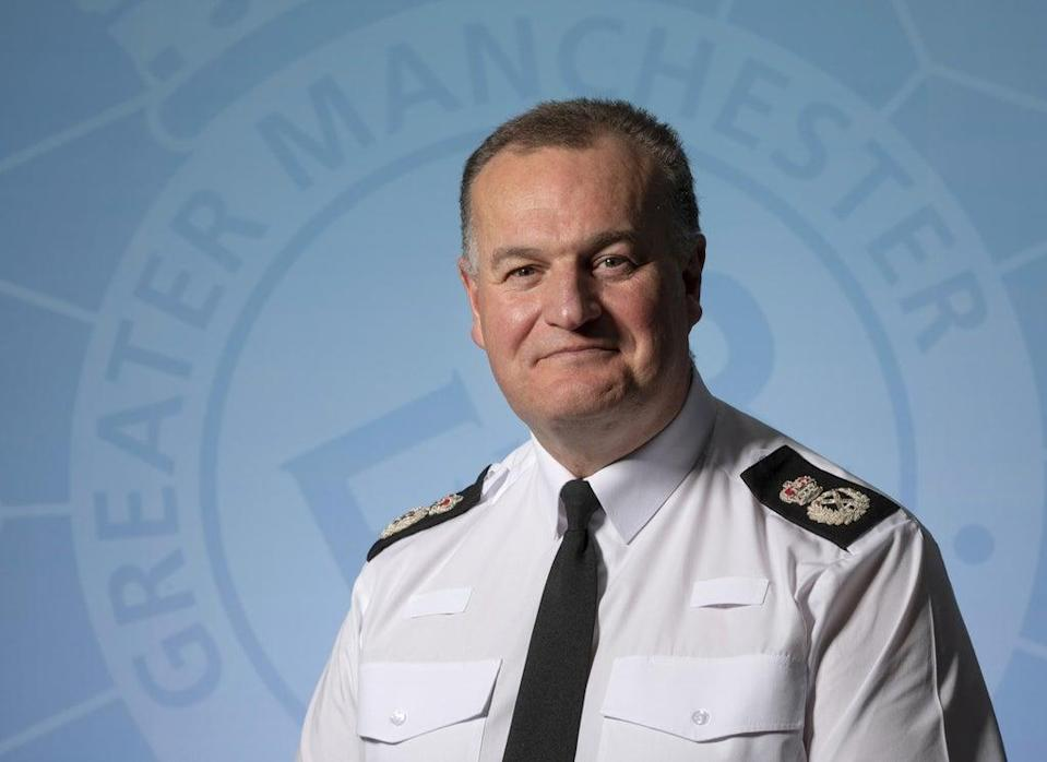 Greater Manchester Police Chief Constable Stephen Watson (GMP/PA) (PA Media)