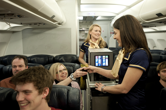 Automatic Bartender Could Shake Up Air Travel