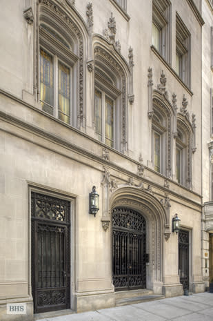 Woolworth Mansion for rent, just $150K a month limestone facade