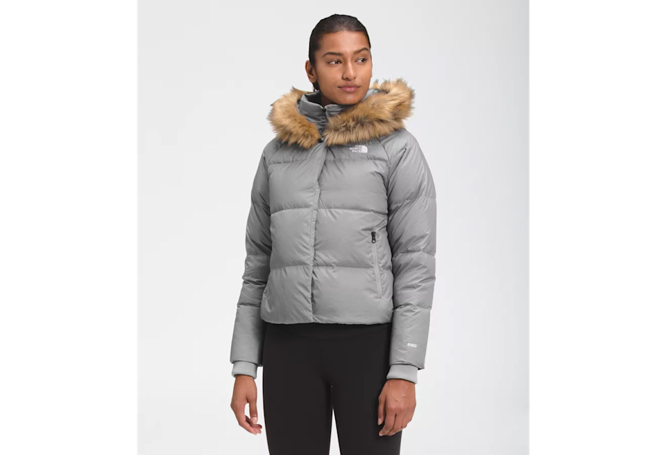 Fabulously chic, ridiculously cozy. (Photo: The North Face)