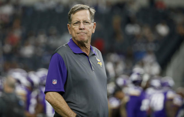 Norv Turner's last stop was in Minnesota as offensive coordinator for the Vikings. (AP)