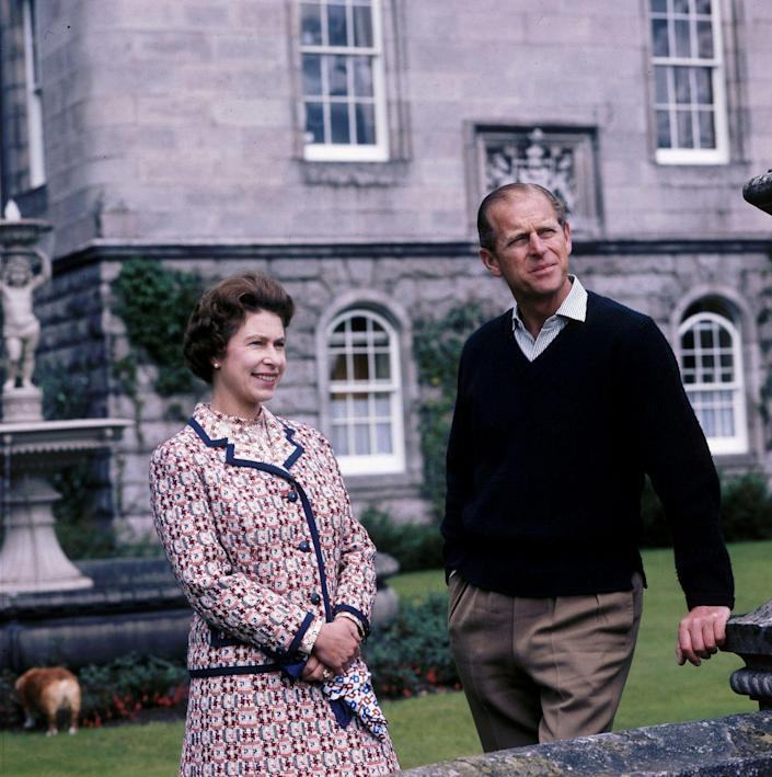 """<p>In the very beginning of their marriage, Elizabeth did not yet hold the title as the Queen of England so she actually <a href=""""https://www.express.co.uk/news/royal/1249822/queen-elizabeth-ii-titles-duchess-prince-philip-duke-of-edinburgh"""" rel=""""nofollow noopener"""" target=""""_blank"""" data-ylk=""""slk:took Philip's name"""" class=""""link rapid-noclick-resp"""">took Philip's name</a>. When they married, Philip became the Duke of Edinburgh, a title he still holds today. Elizabeth became the Duchess of Edinburgh. However, that all changed once her father died. Elizabeth ascended the throne and became Her Majesty The Queen, while Philip stayed a Duke. <br></p>"""