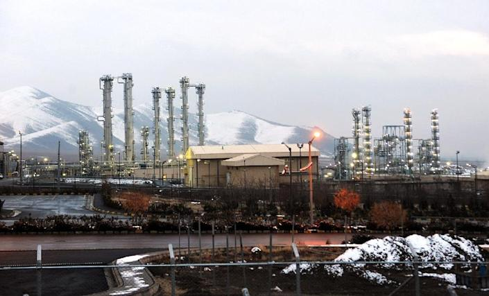 A general view of the water facility in Arak on January 15, 2011 (AFP Photo/Hamid Foroutan)