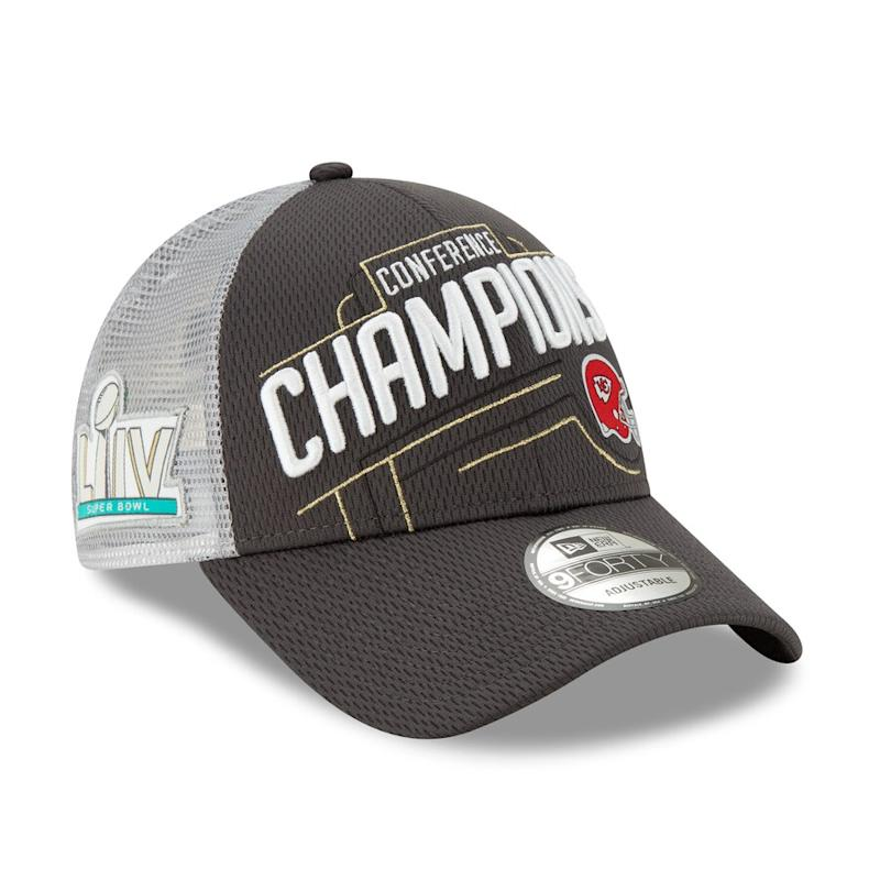 Chiefs 2019 AFC Champions Locker Room Hat