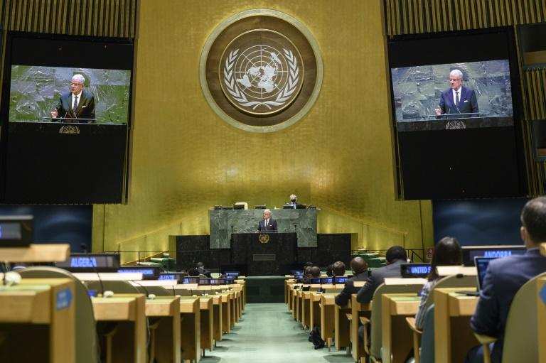 UN General Assembly president Volkan Bozkir criticized the body, saying its effectiveness has been limited
