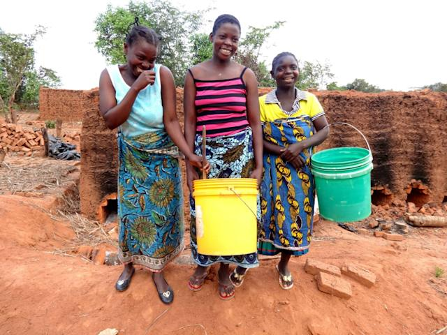 Girls in Malawi
