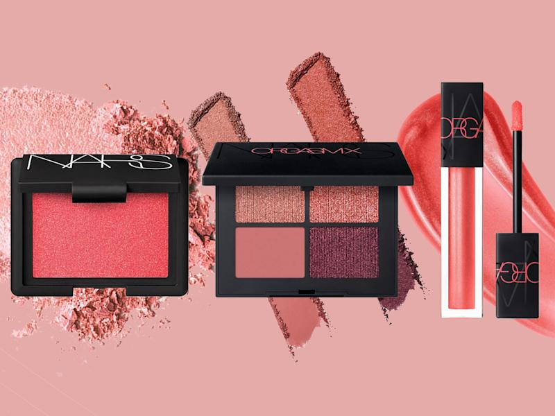The latest collection is inspired by Nars' new orgasm x shade, a hot coral pink that screams summer: The Independent/Nars
