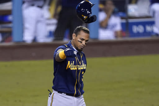 Brewers' season-long hitting woes lead to early playoff exit