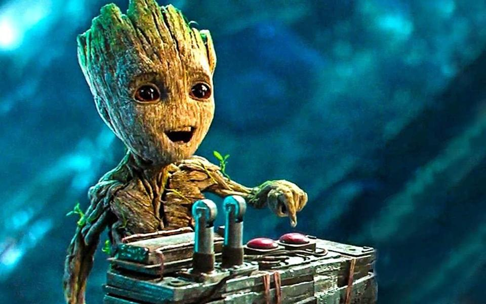Guardians of The Galaxy's 'baby Groot'