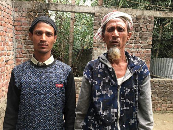 PHOTO: 'I am an Indian,' says Ajbahar Ali, a farmer in Assam who was detained as an 'immigrant' for over three years. His son, Moinul Hoque, could face a similar fate. (Sadiq Naqvi/ABC News)