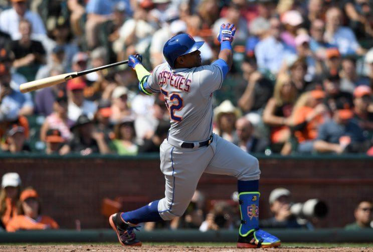 Yoenis Cespedes should make a boatload of money on the free-agent market. (Getty Images/Thearon W. Henderson)